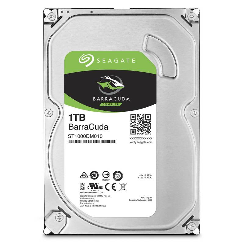 Жесткий диск Seagate Original SATA-III 1Tb ST1000DM010 Barracuda (7200rpm) 64Mb 3.5""