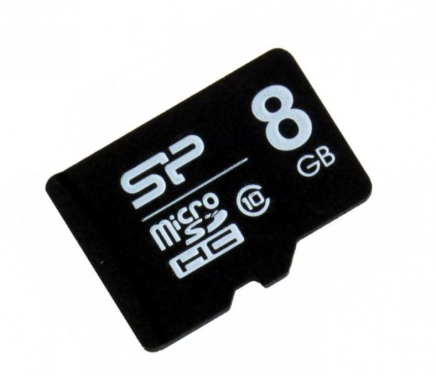 Флеш карта microSDHC 8Gb Class10 Silicon Power SP008GBSTH010V10 w/o adapter